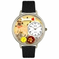 Pug Watch in Silver Unisex U 0130061