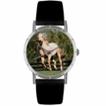 Quarter Horse Print Watch in Silver Classic R 0110030