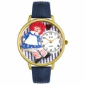 Raggedy Ann Watch in Gold or Silver Unisex G 0220003