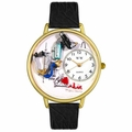 Respiratory Therapist Watch in Gold or Silver Unisex G 0620028