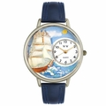 Sailing Watch in Silver Unisex U 0810001