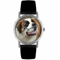 Saint Bernard Print Watch in Silver Classic R 0130070