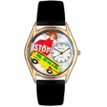 School Bus Driver Watch Classic Gold Style C 0640012