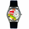 School Bus Driver Watch Classic Silver Style S 0640012