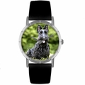 Scottie Print Watch in Silver Classic R 0130067