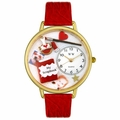 Scrapbook Watch in Gold or Silver Unisex G 0410008