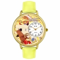 Sewing Watch in Gold or Silver Unisex G 0450001