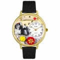 Shih Tzu Watch in Gold or Silver Unisex G 0130069