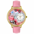 Shopper Mom Watch in Gold or Silver Unisex g 1010008