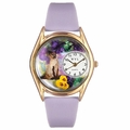 Siamese Cat Watch Classic Gold Style C 0120004