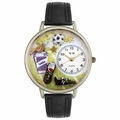 Soccer Watch in Silver Unisex U 0820002