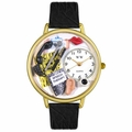 Speech Therapist Watch in Gold or Silver Unisex G 0620021