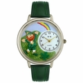St Patricks Day Watch  Rainbow  in Silver Unisex U 1224002