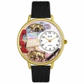 Stock Broker Watch in Gold or Silver Unisex G 0610003