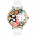 Sushi Watch in Silver Unisex U 0310013