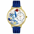 Tea Lover Watch in Gold or Silver Unisex G 0310009