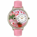 Tea Roses Watch in Silver Unisex U 1210011