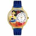 Teacher Teddy Bear Watch in Gold or Silver Unisex G 0230007