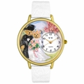 Teddy Bear Wedding Watch in Gold or Silver Unisex G 1340002
