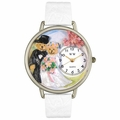 Teddy Bear Wedding Watch in Silver Unisex U 1340002