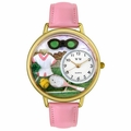 Tennis Watch Female in Gold or Silver Unisex G 0810008