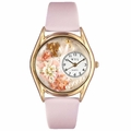 Valentines Day Watch  Pink  Classic Gold Style C 1220013