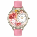 Valentines Day Watch  Pink  in Silver Unisex U 1220024