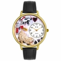 Veterinarian Watch in Gold or Silver Unisex G 0630003