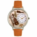 Violin Watch in Silver Unisex U 0510002