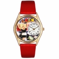 Waitress Watch Classic Gold Style C 0630013