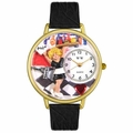 Waitress Watch in Gold or Silver Unisex G 0630004