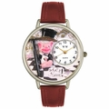 What a Ham Pig Watch in Silver Unisex U 0110015