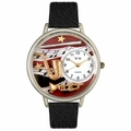 Wind Instruments Watch in Silver Unisex U 0510014