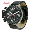 Ingersoll IN1607BK Bison 28 Mens Black Leather Watch