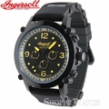 Ingersoll IN1617BKOR Bison Mens Black Automatic Watch