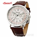 Ingersoll IN4601CR Crow Mens Leather Chronograph Watch