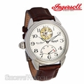 Ingersoll IN8100WH Mens Automatic Leather Watch