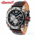 Ingersoll IN2806BK Bison No. 8 Mens Black Dial Leather Watch
