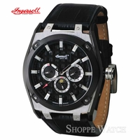 Ingersoll IN1207BK German Design Mens Automatic Leather Watch