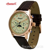 Ingersoll IN1203RWH Union Mens Automatic Leather Watch