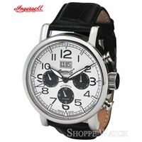 Ingersoll IN1206WH Filmore Automatic Mens Automatic Leather Watch