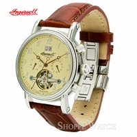 Ingersoll IN1800CR Richmond Mens Brown Automatic Leather Watch