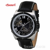 Ingersoll IN2709BK Tipi Mens Black Automatic Leather Watch