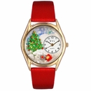 Christmas Tree Watch Classic Gold Style C 1220001