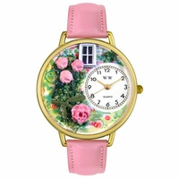 Roses Watch in Gold or Silver Unisex G 1210005