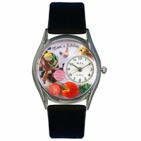 Moms Kitchen Watch Classic Silver Style S 1010015