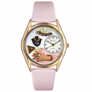 Jewelry Lover Pink Watch Classic Gold Style C 0910013
