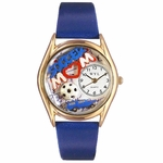 Soccer Mom Watch Classic Gold Style C 1010002