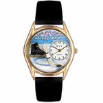 Hockey Mom Watch Classic Gold Style C 1010020