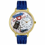 Soccer Mom Watch in Gold or Silver Unisex G 1010012